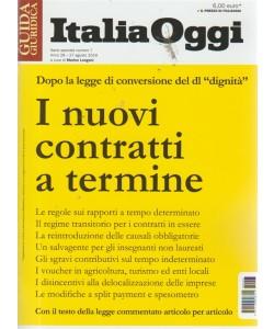 Guida Italia Oggi - I Nuovi Contratti A Termine - n. 7 - 27 agosto 2018 -