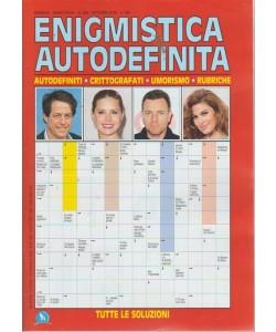 Enigmistica Autodefinita - n. 344 - mensile - ottobre 2018