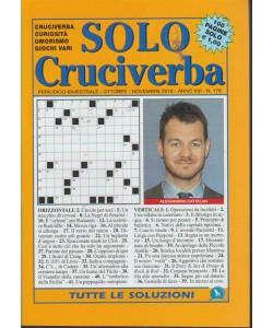 Solo Cruciverba - n. 178 - bimestrale - ottobre - novembre 2018 - 100 pagine