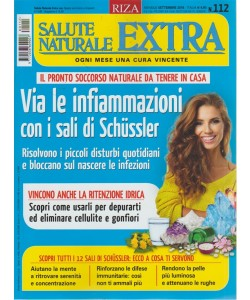 Salute Naturale Extra - n. 112 - mensile - settembre 2018 -