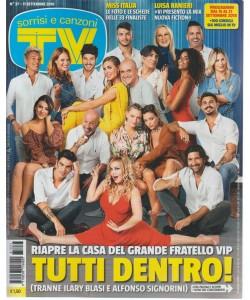 Sorrisi E Canzoni Tv - n. 37 - 11 settembre 2018 - settimanale