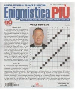 Enigmistica Piu' - n. 37 - 19 settembre 2018 - settimanale - ogni mercoledì in edicola