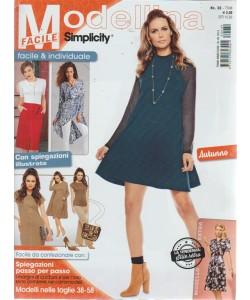 Modellina Facile - Simplicity - n. 30 trimestrale - 6/9/2018 - autunno