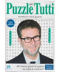 Puzzle per tutti - n. 98 - bimestrale - 5/9/2018 - Fabio Fazio