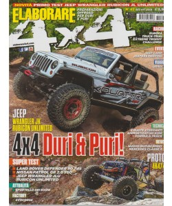 Elaborare 4X4 - n. 63 - bimestrale - settembre - ottobre 2018