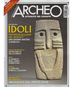 Archeo - n. 403 - settembre 2018 - mensile
