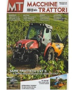 Macchine Trattori - n. 186 - settembre 2018 - mensile