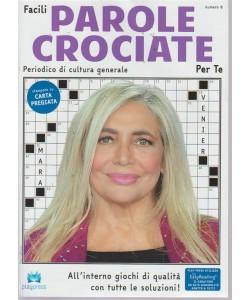 Facili parole crociate per te - n. 8 - bimestrale - 20/9/2018 - Mara Venier