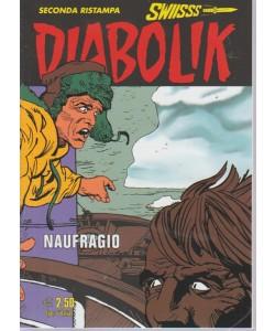 Diabolik Swiisss - Ii Ristampa - Naufragio - n. 292 - mensile - 20/9/2018