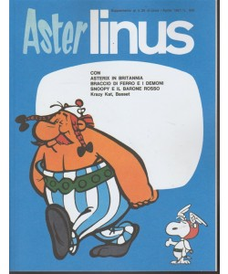 Linus Speciali - Aster Linus - RIEDIZIONE - supplemento al n. 25 Aprile 1967