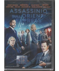 I Dvd Fiction Sorrisi - Assassinio sull'Orient Express - n. 18 - ottobre 2018