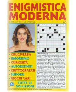 Enigmistica moderna - n. 360 - mensile - ottobre 2018