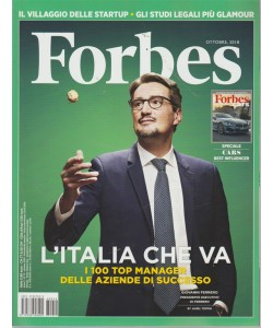 Forbes -n. 12 - ottobre 2018 - mensile