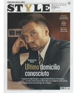 Style magazine - n. 10 - ottobre 2018 - Corriere della sera