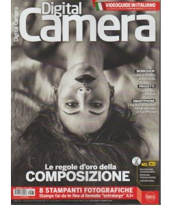 Digital Camera Magazine - mensile n. 187 Marzo 2018 cn Videoguide in Italiano