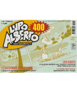 Lupo Alberto - n. 400 - 1 ottobre 2018 - mensile