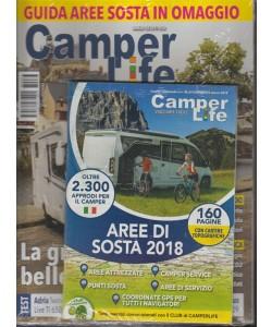 Camperlife - mensile n. 63 Marzo 2018 in omaggio la Guida Aree di sosta 2018