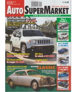 Auto Super Market - n. 10 - ottobre 2018 -