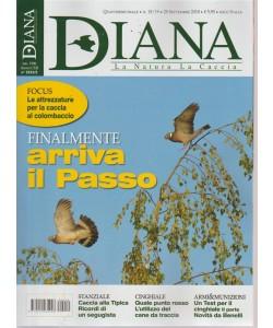 Diana - La Natura  La Caccia - n. 18/19 - 28 settembre 2018 - quattordicinale