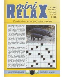 Mini Relax - n. 1897 - settimanale - 2/10/2018 -