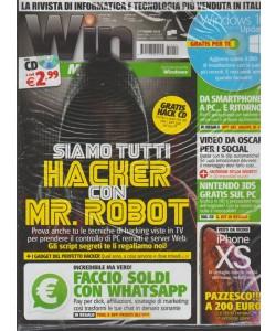 Win magazine - rivista + CD - n. 250 - ottobre 2018 - mensile