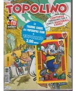Supertopolino -  + le Trading cards del Paperopoli team - n. 3280 - 3 ottobre 2018 - settimanale