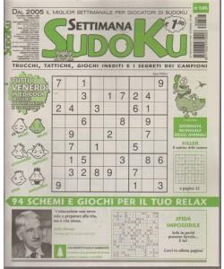 Settimana sudoku - n. 686 - settimanale - 5 ottobre 2018