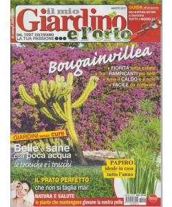 Il mio Giardino... e l'orto - mensile n. 214 Agosto 2017 Bougainvillea