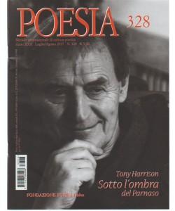 Poesia - Mensile internazionale di cultura poetica n. 328 Luglio 2017