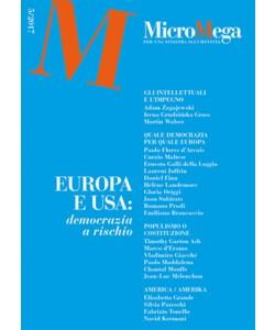 Micromega - bimestrale n. 5/2017 Europa e USA: democrazia a Rischio