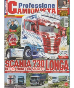 Professione Camionista - mensile n. 338 agosto 2017 - Scania 730 Longa