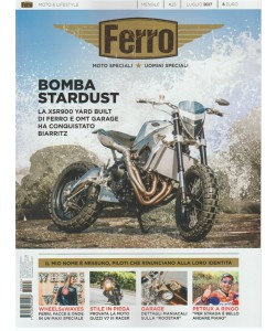 Ferro - mensile n. 25 Luglio 2017 Moto Speciali-Uomini Speciali