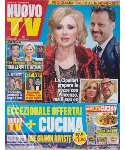 Nuovo Tv + - Nuovo Cucina - n. 45 - 13 novembre 2018 - settimanale - 2 riviste
