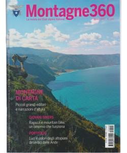 Montagne 360 - mensile n. 59 Agosto 2017 - la rivista del Club Alpino Italiano