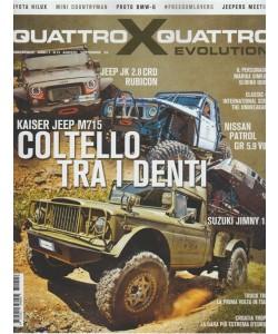 Quattro X Quattro evolution - bimestrale n. 15 Agosto 2017 Kaiser Jeep M715