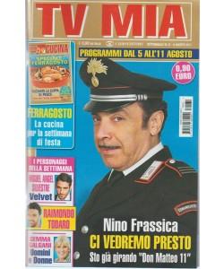 "Tv Mia - settimanale Pocket n.31 - 8 Agosto 2017 - Nino Frassica ""Don Matteo 11"""