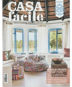 Casa Facile - mensile n. 8 Agosto 2017 Design di vacanza: dal Garage al Castello