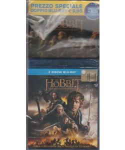 LO HOBBIT. LA BATTAGLIA DELLE CINQUE ARMATE. 2 DISCHI BLU-RAY.N. 15. I DVD CINEMA DI PANORAMA 2