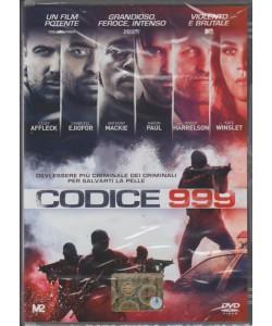 CODICE 999. SUPER ANTEPRIMA PANORAMA. N. 31. UN FILM POTENTE GRANDIOSO, FEROCE, INTENSO  VIOLENTO E BRUTALE.