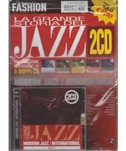 MUSIC FASHION. LA GRANDE STORIA DEL JAZZ. 2 CD.  + RIVISTA