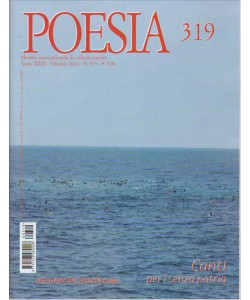 POESIA N. 319. OTTOBRE 2016.