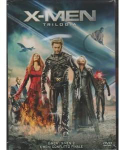 X-MEN TRILOGIA. COFANETTO DA COLLEZIONE TRE FILM. X-MEN - X-MEN2 - X-MEN: CONFLITTO FINALE.
