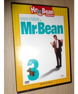 DVD VOLUME 3 N° 3 MR. BEAN COLLECTION MASTER EDIZIONI ROWAN ATKINSON