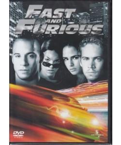 Fast and furious - Vin Diesel, Paul Walker, Michelle Rodriguez (DVD)
