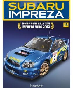 Costruisci la Subaru Impreza WRC 2003 uscita 14