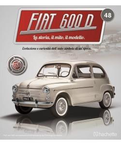 Costruisci la mitica FIAT 600 uscita 48