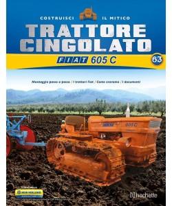 Costruisci il Trattore FIAT 605 C 2° ed. uscita 63