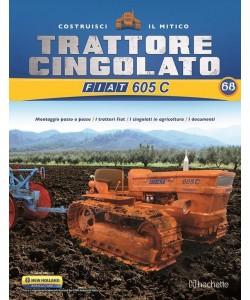 Costruisci il Trattore FIAT 605 C 2° ed. uscita 68
