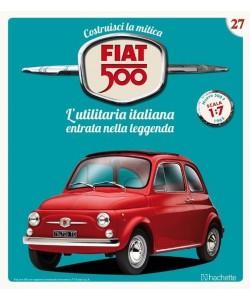 Costruisci la mitica FIAT 500 2^ edizione uscita 27