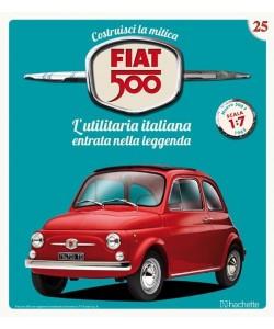 Costruisci la mitica FIAT 500 2^ edizione uscita 25